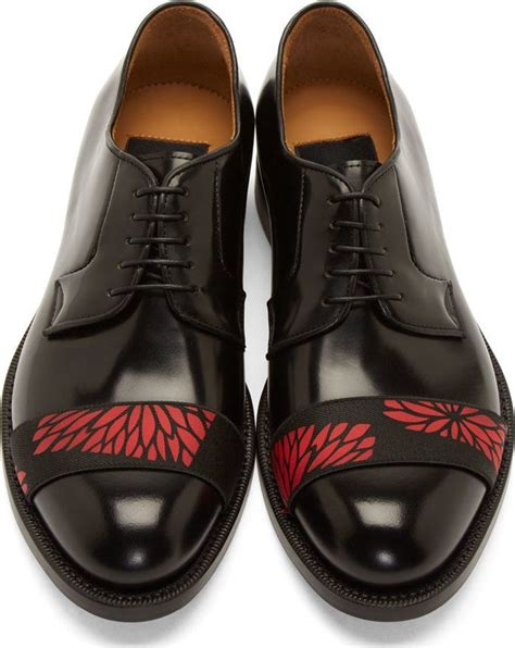 Raf Simons Dress Shoes by Raf Simons Black Leather Band Derbys Amazing And Beautiful World Shoes Dress Shoes Mens