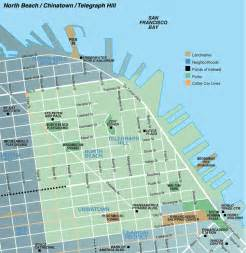 Chinatown San Francisco Map by North Beach Chinatown Telegraph Hill Map Telegraph Hill