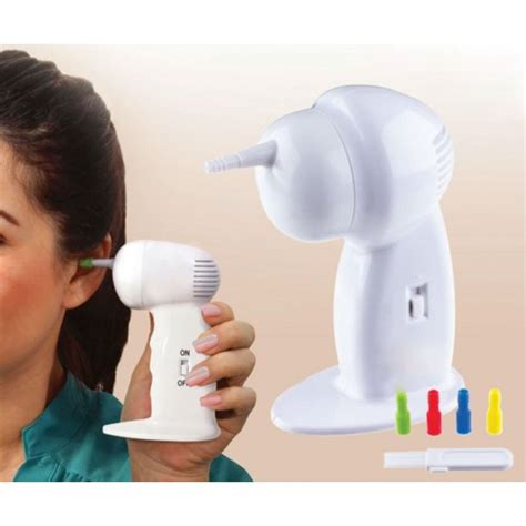 as seen on tv ear wax vac cordless earwax remover and