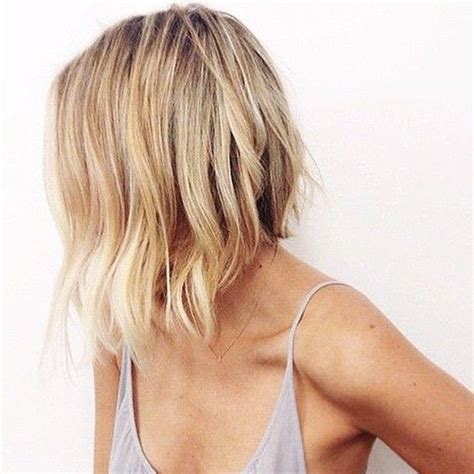 how to cut a aline bob on wavy hair 17 best images about shoulder length hair on pinterest