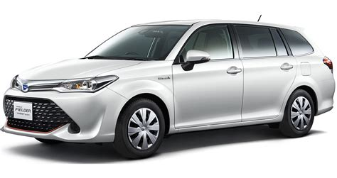Toyota Corolla Fielder Hybird Interior Release Date On