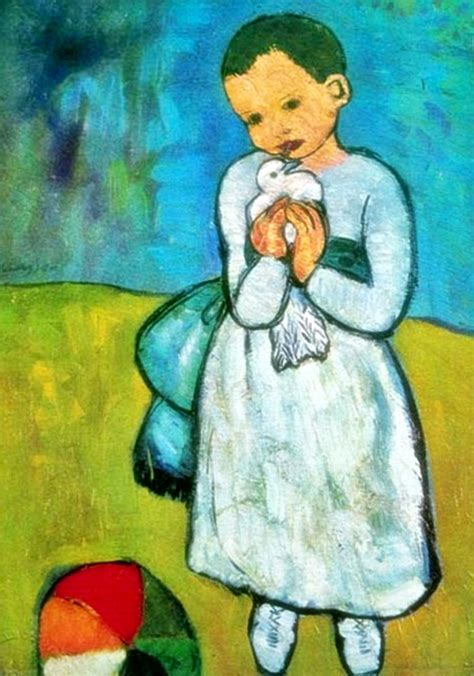 picasso paintings child with a dove pablo picasso after child with dove