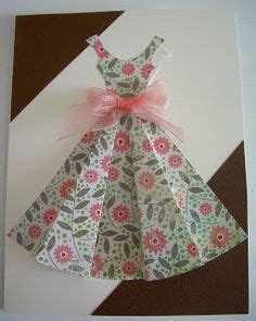 folded dress card template 1000 images about craft dresses on paper