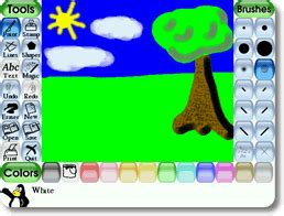 tux paint free play tux paint for mac play on your mac computer