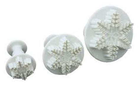 snowflake plunger cutter set 3