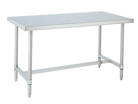 labrepco stainless steel tables with bottom h frame