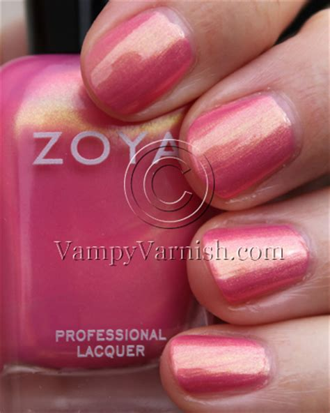 Zoya Cosmetics Eyeshadow Carafe 01 a plethora of pink nail for s day