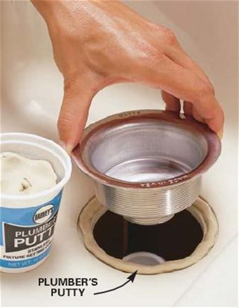 Plumbers Putty Faucet by How To Install An Undermount Sink How To Diy