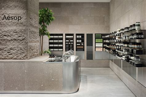 Mountain Home Interiors aesop store by case real sapporo japan 187 retail design blog