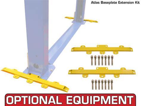 atlas bp8000 baseplate 8000 lbs capacity 2 post car