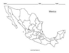 blank us map with mexico mexico blank map free printable allfreeprintable