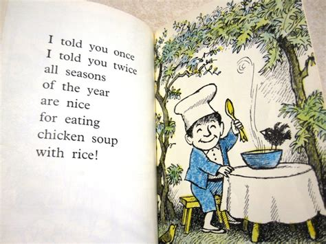 libro chicken soup with rice chicken soup with rice a book of months kinder books