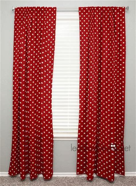 red polka dot curtains pinterest the world s catalog of ideas