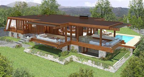 progetto casa in legno gallery of best casa in legno piano terra metri quadri