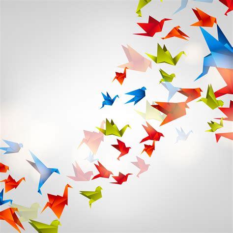 Origami Birds Flying - easy bird paintings related keywords easy bird paintings
