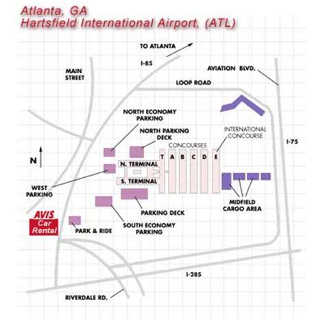 atlanta hartsfield jackson intl airport atl car rentals avis