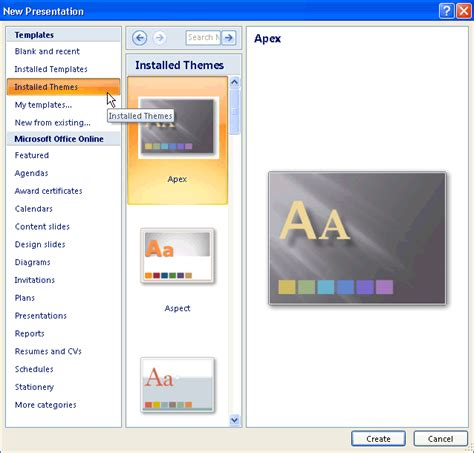 new themes in powerpoint powerpoint 2010 new presentations