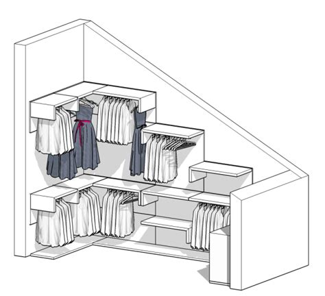 cabine armadio in mansarda idee il progetto di una cabina armadio in