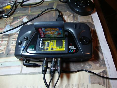 sega game gear led mod tutorial para cambiar una pantalla lcd en game gear 2 de