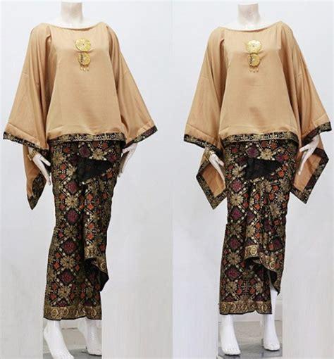 model gamis batik kombinasi polos modern muslim remaja