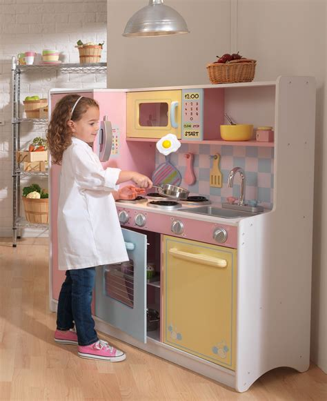 kk 0056 kidkraft large pastel kitchen chopchop baby