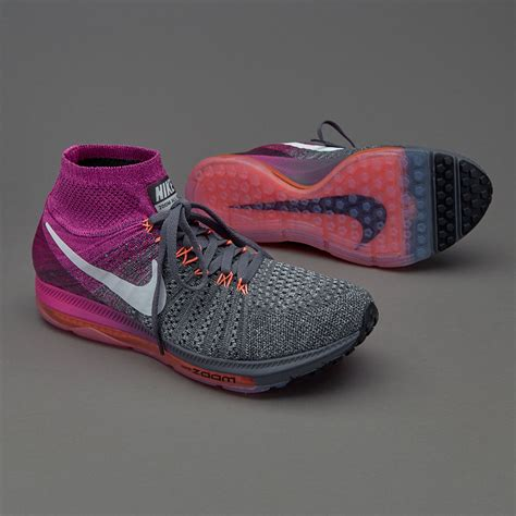 Sepatu Nike Zoom All Out sepatu sneakers nike womens zoom all out flyknit grey