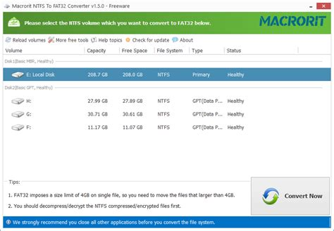 format hard disk without losing data convert ntfs to fat32 without losing data