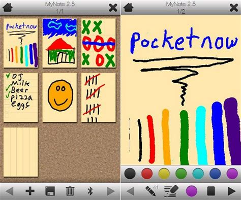 drawing apps free mynote drawing app updated with new look pocketnow