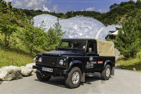 electric land land rover tests electric defender with impressive results