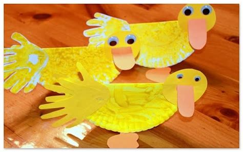 Duck Paper Craft - the story about ping fi ar preschool showers and duck