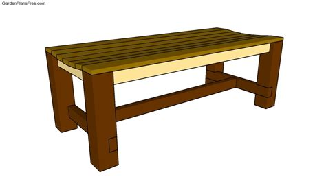 free coffee table plans free garden plans how to build