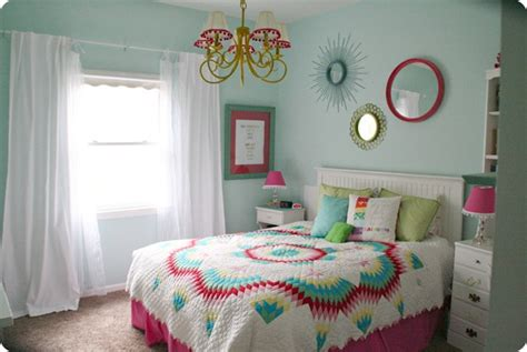 teenage room colors colorful teen girls bedroom design dazzle