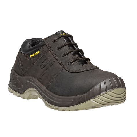 safety shoes for parade footwear nikola mens brown leather metal free