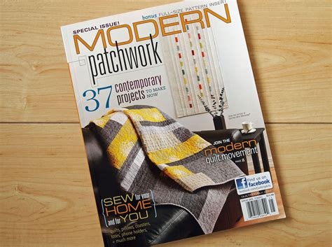 spotted stones modern patchwork magazine