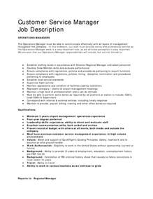 Customer Service Executive Description Resume customer service description resume resume cover