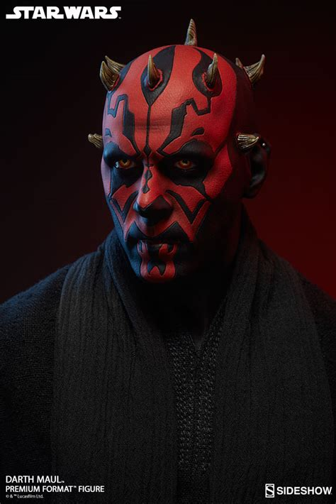 wars darth maul at last we will reveal ourselves to the jedi sideshow