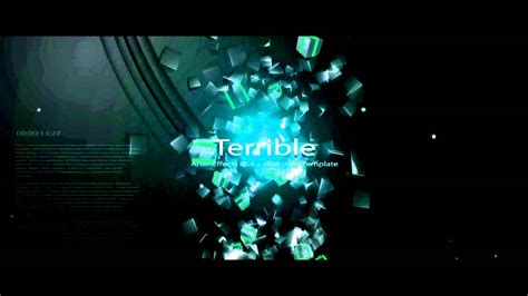 template after effects cs6 after effects intro templates cyberuse