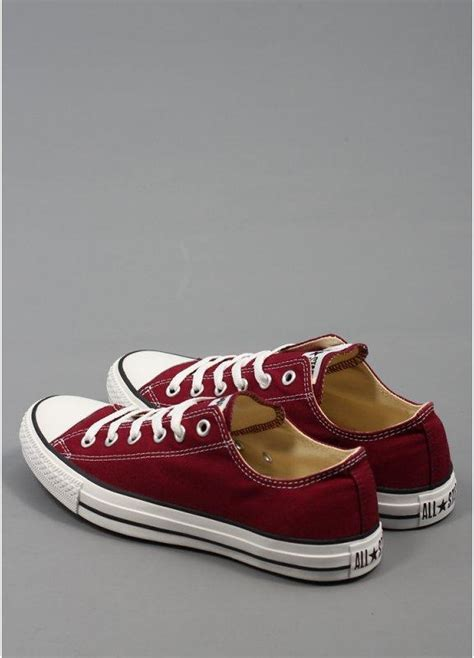 Sepatu Converse All Maroon 1 converse all ox trainers maroon
