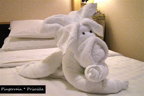 Animal Towel rc liberty of the seas towel animals pingerrain priscilla