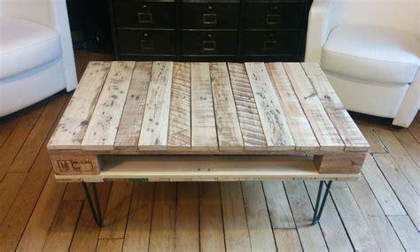 la table basse en bois de palette de g 233 raldine diy