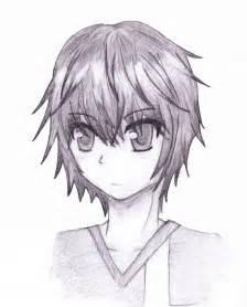sketch anime boy by blazing skies on deviantart