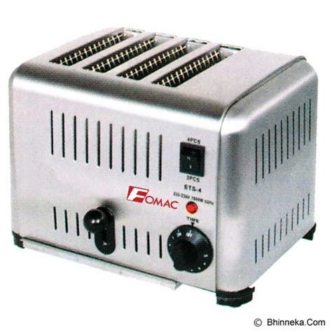 Fomac Bread Toaster Type Btt Ds6 jual bread toaster cek harga di pricearea