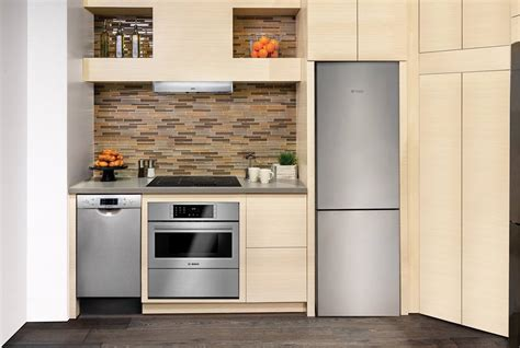 new 24 bosch refrigerator fits tiny kitchens with big