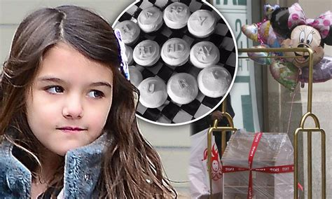 Suris Birthday by Girly Suri Cruise Celebrates Eighth Birthday With
