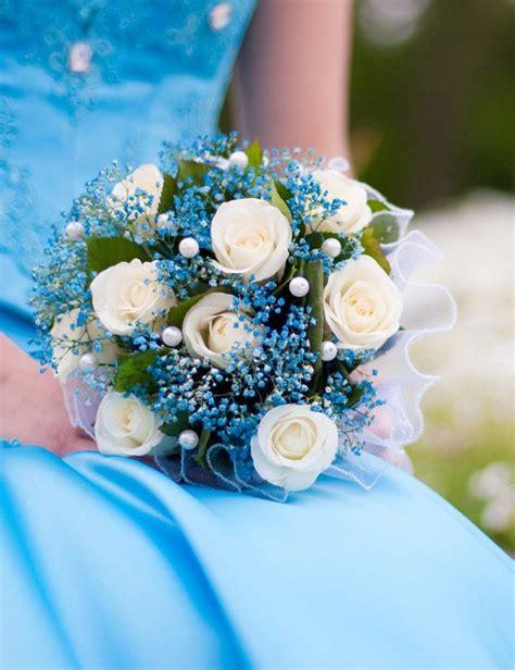 Hochzeitsschmuck Blau by Blaue Brautstr 228 U 223 E Heiraten Mit Braut De