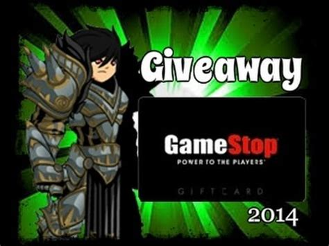 Gamestop Gift Card Giveaway - full download aqw gamestop gift card giveaway may 2014