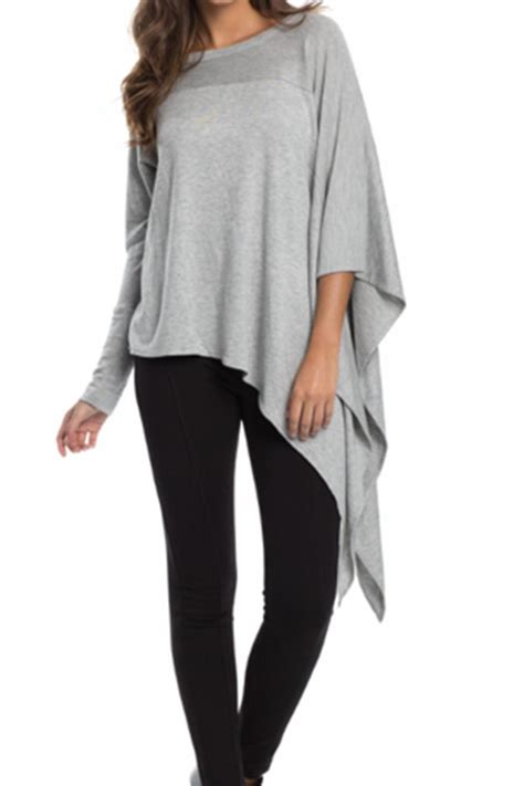 Elan USA One Armed Asymmetrical Top from California by