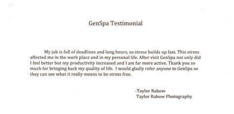 testimonial template free testimonial template exles images