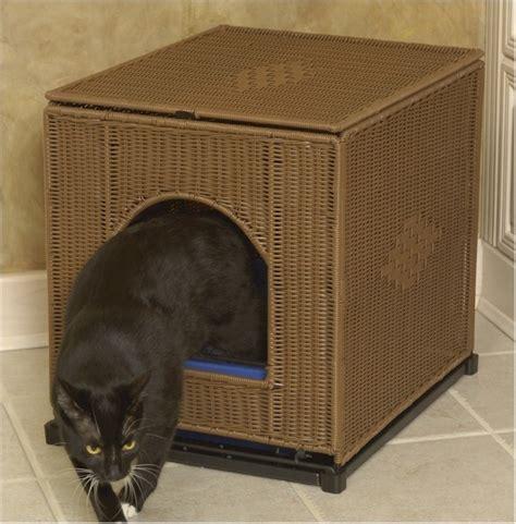 wooden cat toilet litterbox cabinet cat litterbox cabinet plastic wicker rolling cover litter