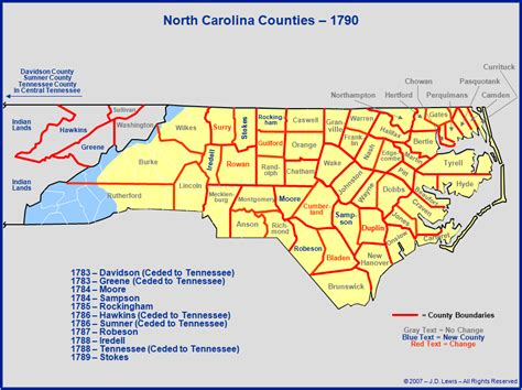 map of counties in nc map of carolina counties in 1760 to 1780 map to
